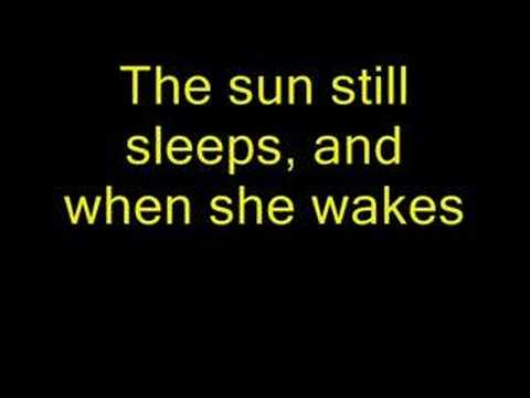 When The Sun Sleeps- Underoath