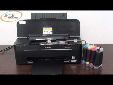 Impresora Epson Con Tinta Recargable ▶ Impresora Epson T25 Con