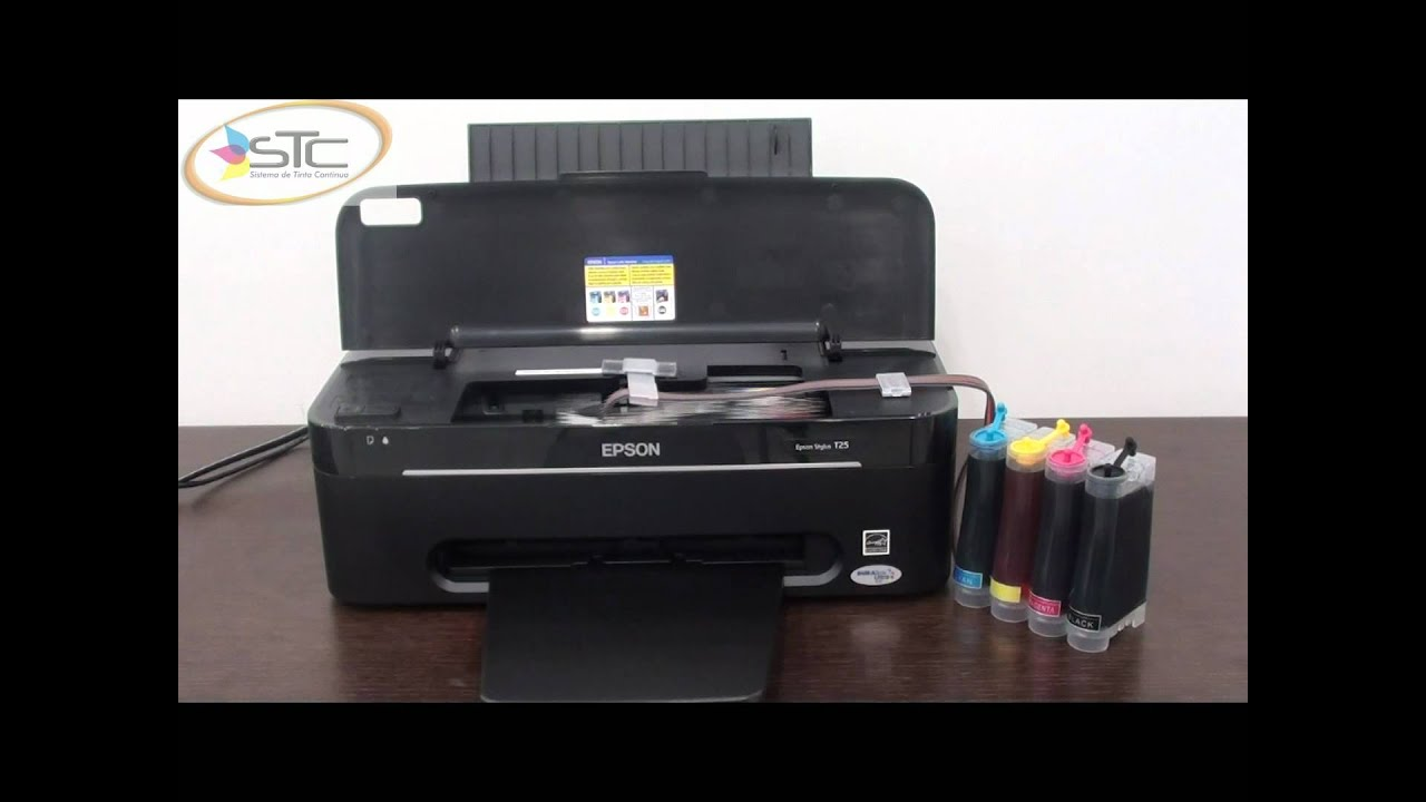 Impresora Epson Con Tinta Recargable Impresora Epson T25 Con