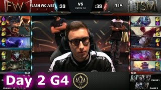 Flash Wolves vs TSM | Day 2 LoL MSI 2017 Group Stage | FW vs TSM Mid Season Invitational
