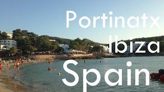 Portinatx in Ibiza (Spain)