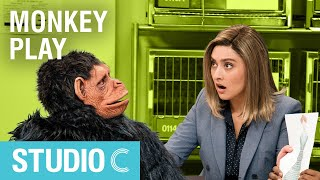 Scientist Ruins Monkey Experiment - Studio C