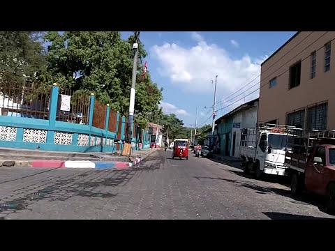 Santiago Nonualco La Paz  Nuevo parque y mercado