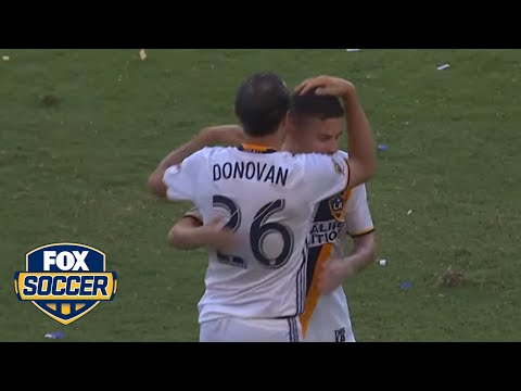 Best of MLS 2016: Landon Donovan's shocking return to the LA Galaxy   FOX SOCCER