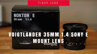 Voigtlander 35mm 1 4 Sony E Mount