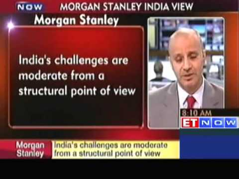 India's Challenges are Moderate : Morgan Stanley