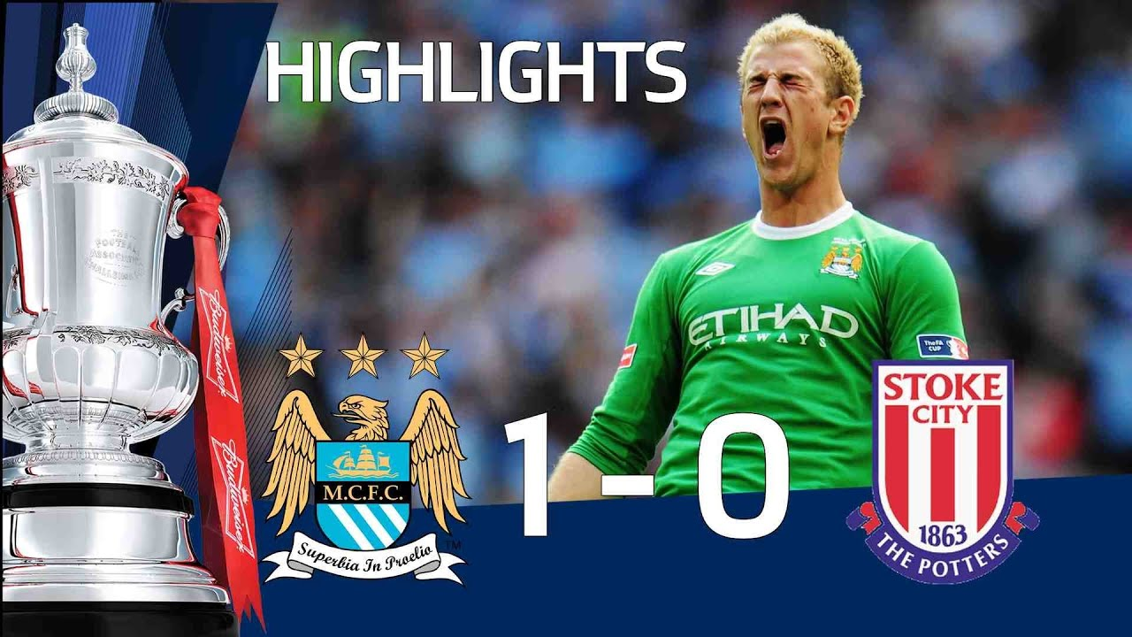 Official The Highlights City Manchester 1 -  0 City Stoke |