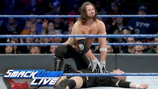 James Ellsworth vs. AJ Styles - WWE Championship Match: SmackDown LIVE, Dec. 20, 2016