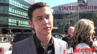 FOX ALL ACCESS GOES ONE ON ONE WITH SCOTTY MCCREERY ON AMERICAN IDOL FINALE RED CARPET