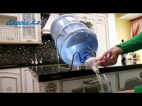 Кран на бутыль 19 литров своими руками