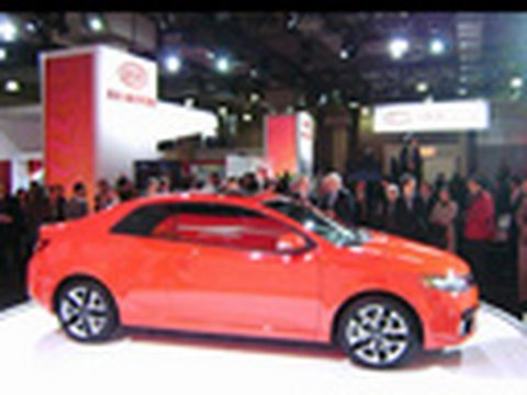 Kia Forte Koup @ 2009 New York Auto Show Video