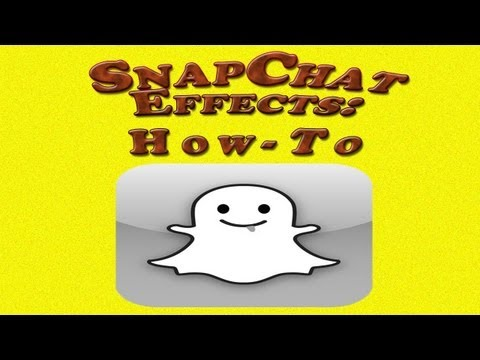 Snapchat Bonus Effects How-to: Filters/Video/Paint colors
