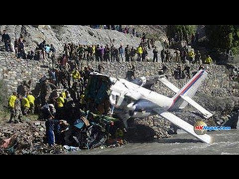 Nepal Airlines Plane Crashes in Jomsom