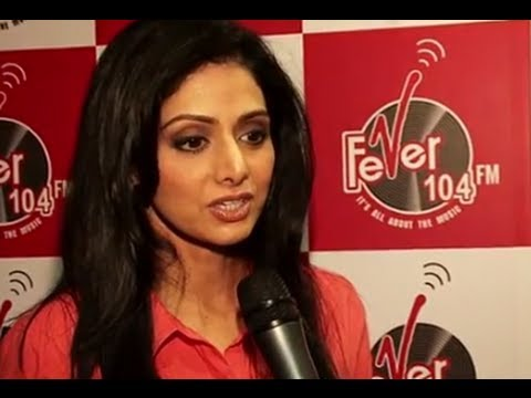 Sridevi And Gauri Shinde At Radio Stations Promoting English Vinglish