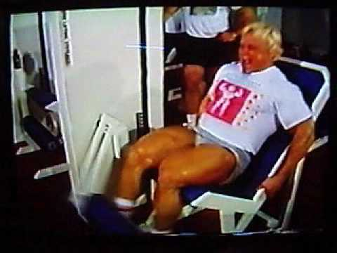 tom platz legs extension training Image 1