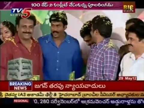 Sunil's Poola Rangadu Movie Completes 100 Days (TV5)