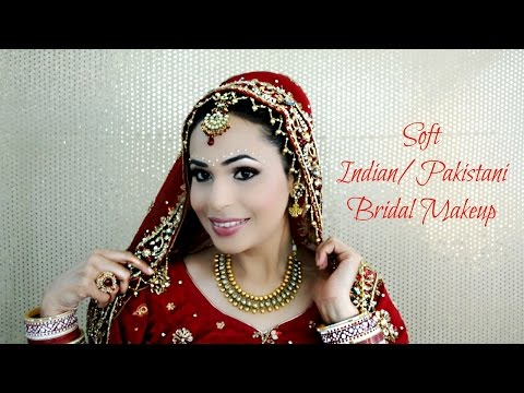 Soft Indian Bridal Look   Colab with Jiinxii♡