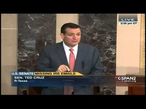 Ted Cruz: Eric Holder Should Appoint IRS Special Prosecutor