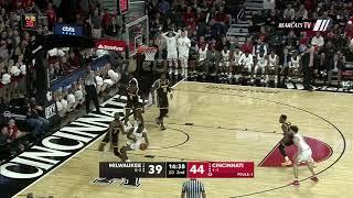 Men's Basketball Highlights: Cincinnati 74, Milwaukee 63 (Courtesy ESPN)