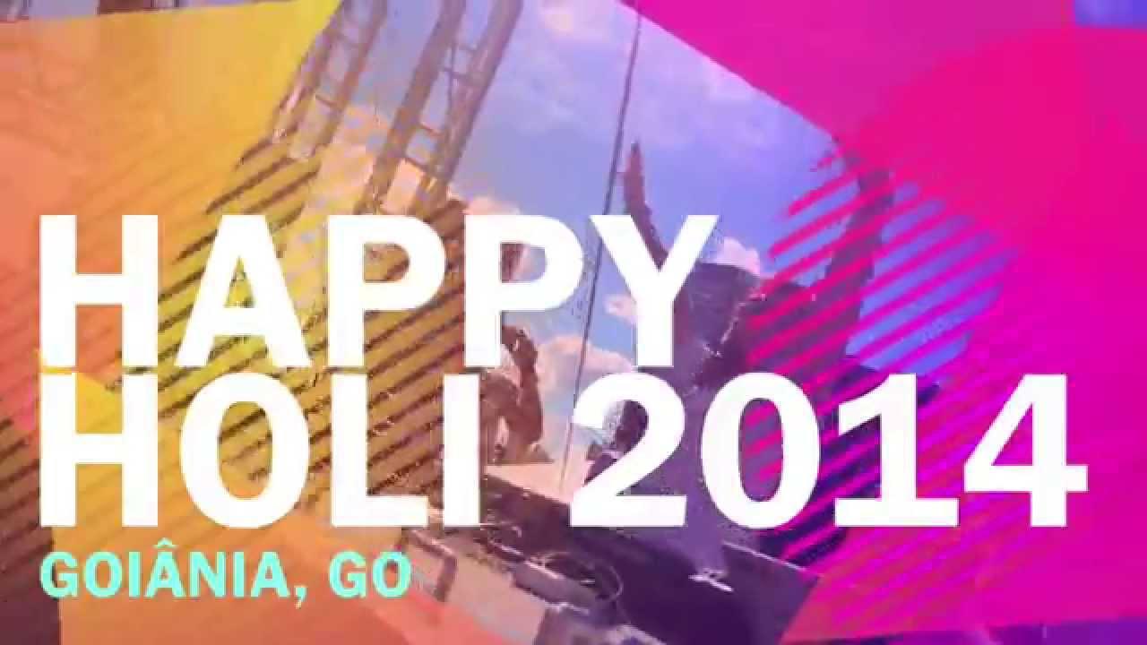 Happy Holi Goiânia 2014