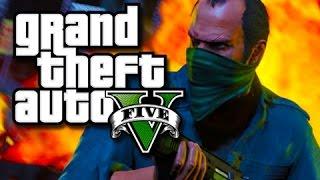 GTA 5 PC Funny Moments! - Flare Guns Are Fun!