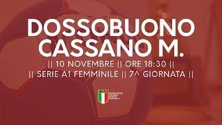 Serie A1F [7^]: Dossobuono - Cassano Magnago 32-26