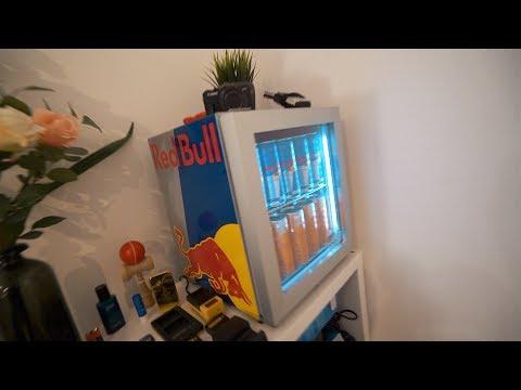 Red Bull Kühlschrank Beleuchtung : Mini bull rc flugzeug unboxing