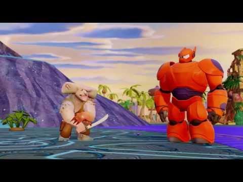 Big Hero 6  - Hiro & Baymax  - Trailer -  Disney Infinity 2.0