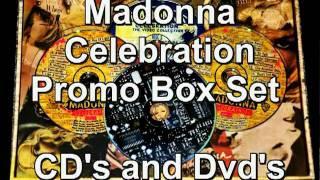 Madonna Celebration Promo Box Set Rare