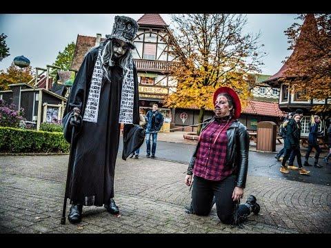 Halloween W Heide-Park Resort Z Centrum Turystyki Oskar!