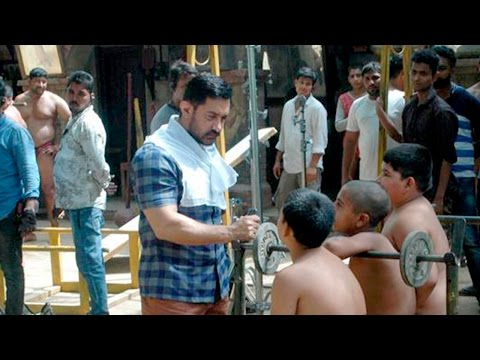 Aamir Khan Dangal Shooting - Behind The Scenes - Leaked Video thumbnail