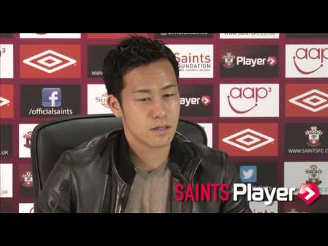 Defender Yoshida Expecting 'Tough Game' At Stoke - 吉田麻也の記者会見