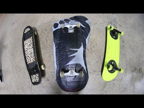 THE 3 WEIRDEST SKATEBOARDS IN THE WORLD