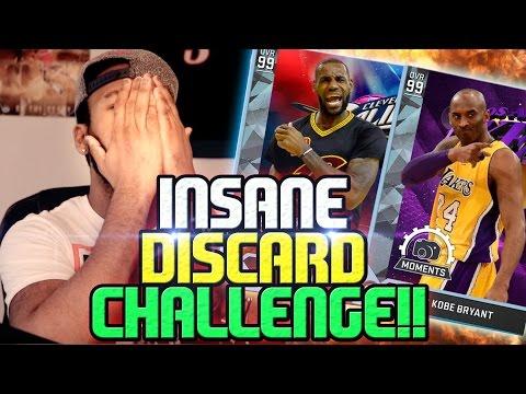 CRAZY 99 OVR DIAMOND LEBRON JAMES and 99 OVR KOBE BRYANT DISCARD CHALLENGE!! NBA 2K16 MyTEAM
