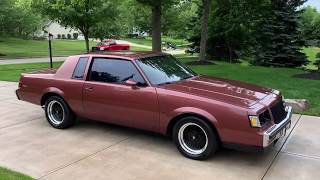 1987 Buick Regal T-Type - For sale at www.bluelineclassics.com