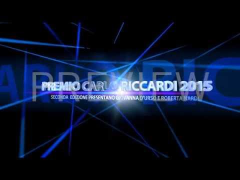 PREMIO CARLO RICCARDI A ROMA IL 23 SETTEMBRE 2015