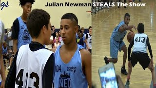 Julian Newman INVADES Ohio & Steals The Show! NEO Youth Elite Camp 2017