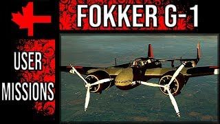 War Thunder - Fokker G-1 in Game