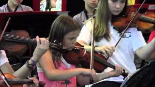 Julia in Strings Prelude Concert at camp