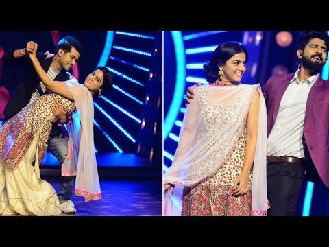 D4 Junior Vs Senior l Romance of Neerav & Rahul with Wamiqa Gabbi I Mazhavil Manorama