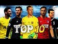 Top 10 goalkeepers in the World 2018  HD