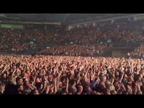 Closing to Birmingham concert Adam Lambert and Queen