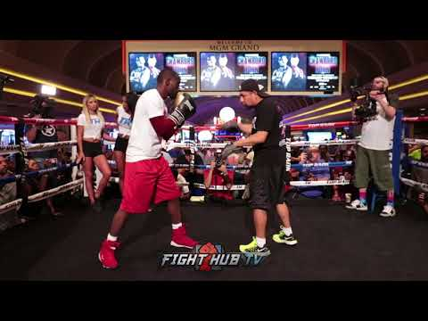 TERENCE CRAWFORD'S FULL WORKOUT DAYS AHEAD OF WELTERWEIGHT DEBUT AGAINST JEFF HORN