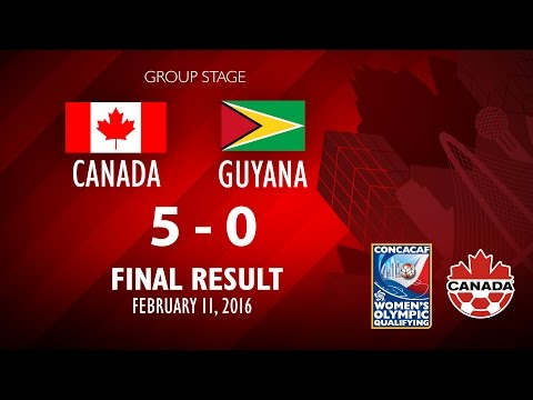 Canada 5:0 Guyana : Post-match comments, Women's Olympic Qualifiyng