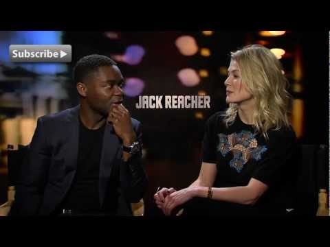 David Oyelowo and Rosamund Pike on working with Tom Cruise | Tinsel Talk