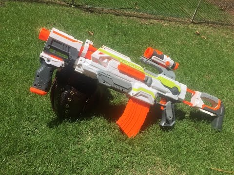 Honest Review: Nerf MODULUS ECS-10 (Full Unboxing and Demo)