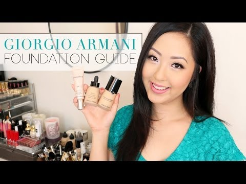 REVIEW: Armani Foundations [Luminous, Lasting, Maestro, Designer + More]