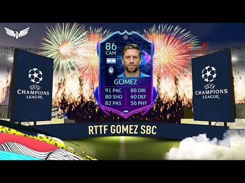 RTTF Team 2!!! New Road to the Final SBCs - FIFA 20 Ultimate Team - FUT
