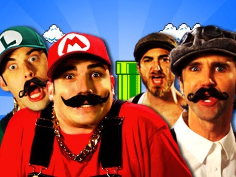Epic YouTube Rap Battles: Mario Bros. Vs. Wright Bros. Features Rhett & Link