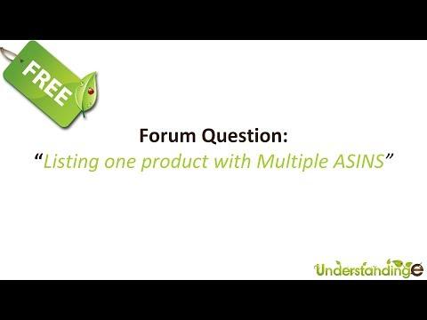 M2EPro & Magento Multiple ASINS for Listing onto Amazon